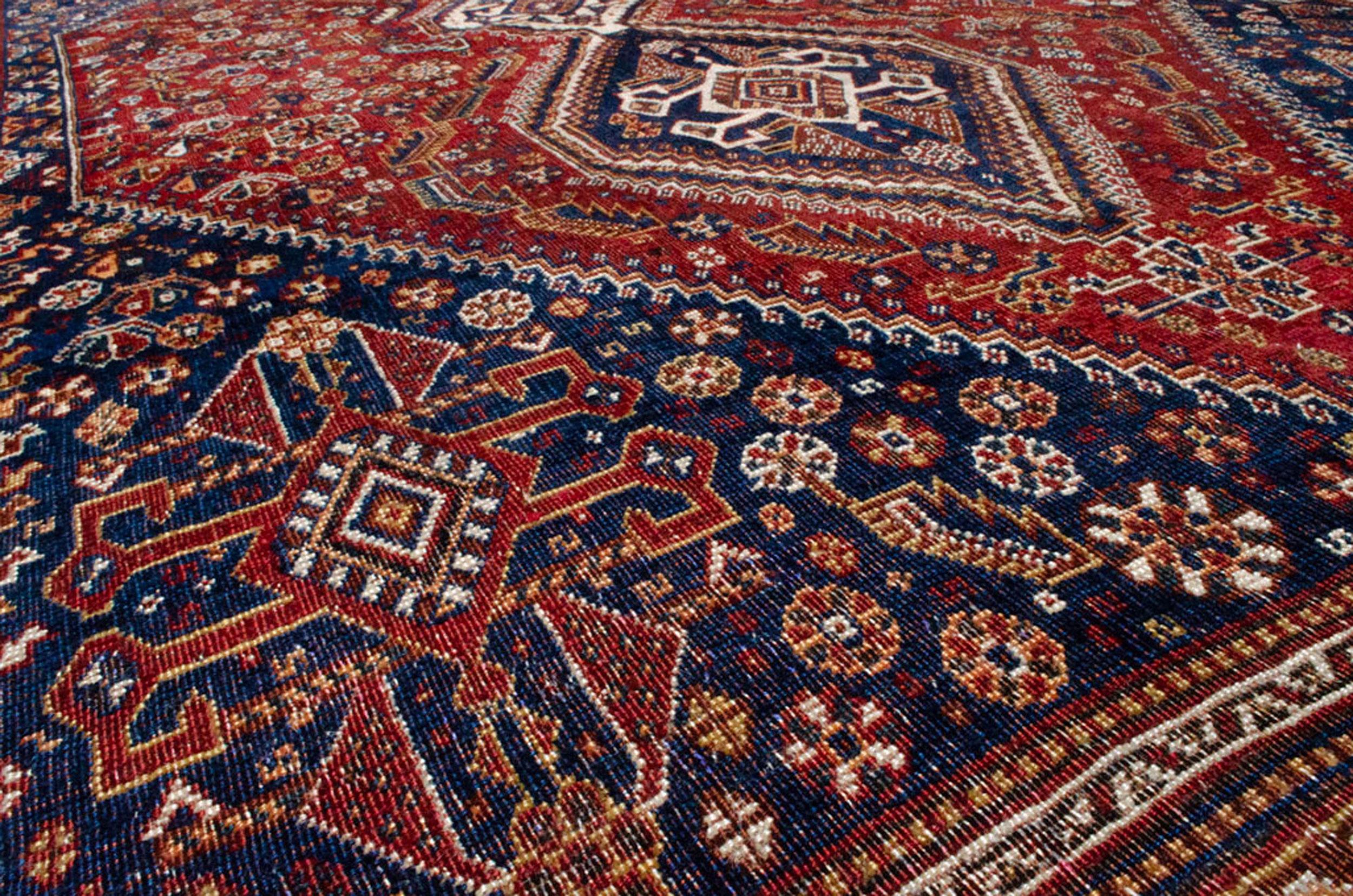 Antique Qashqai Carpet 280 x 170cm