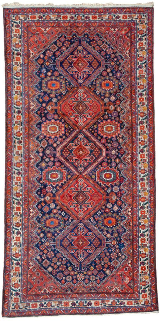 Antique Heinegoon Carpet 324x161cm