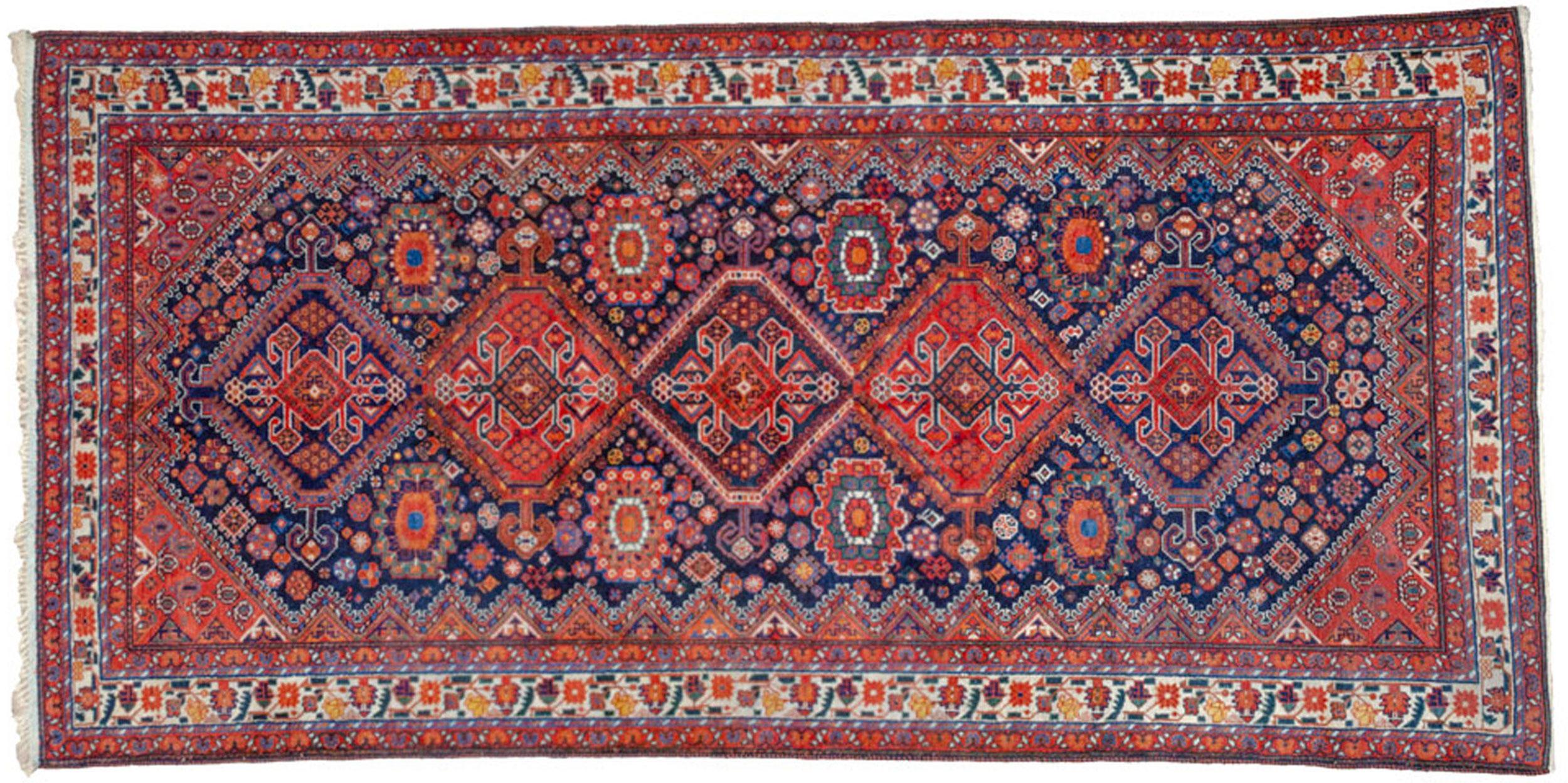 Antique Heinegoon Carpet 324x161cm