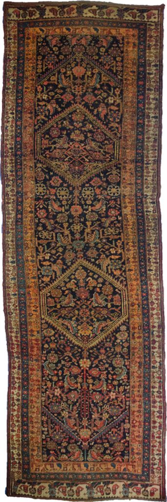 Antique Bijar Runner 307x110cm