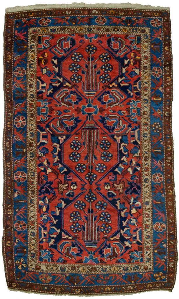 Antique Zanjan Rug 196x117cm