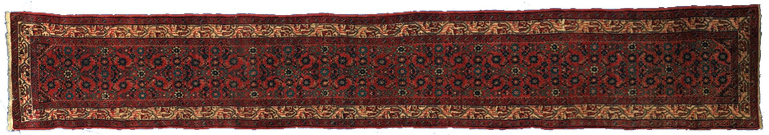 Vintage Hosseinabad Runner 488x78cm
