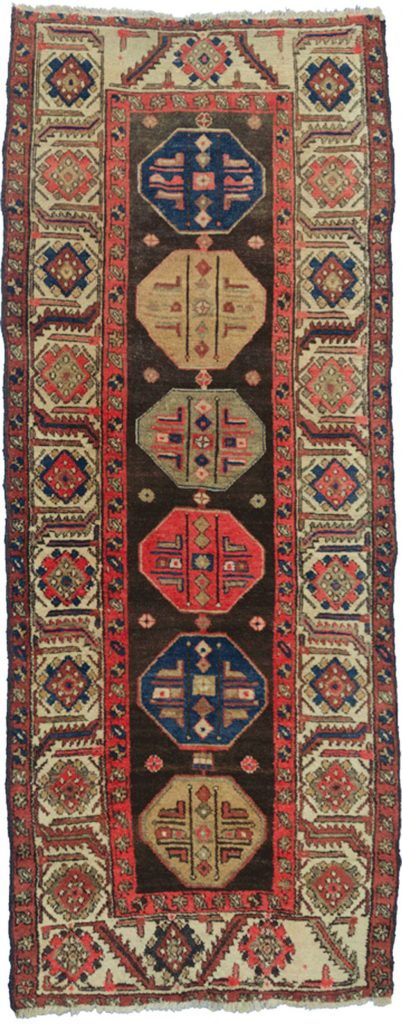 Antique Malayer Runner 228x90cm