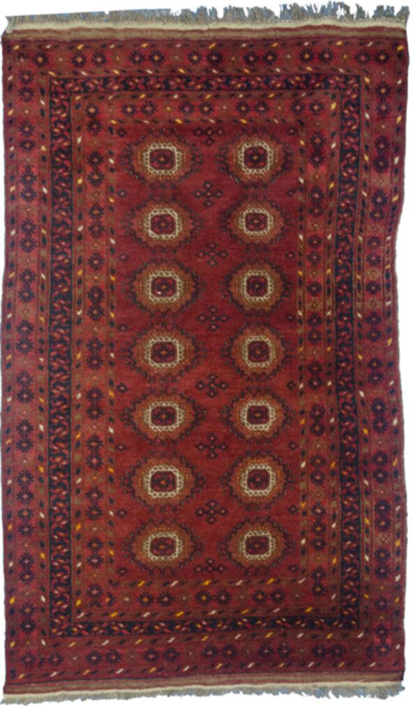 Vintage Afghan Rug 163x103cm