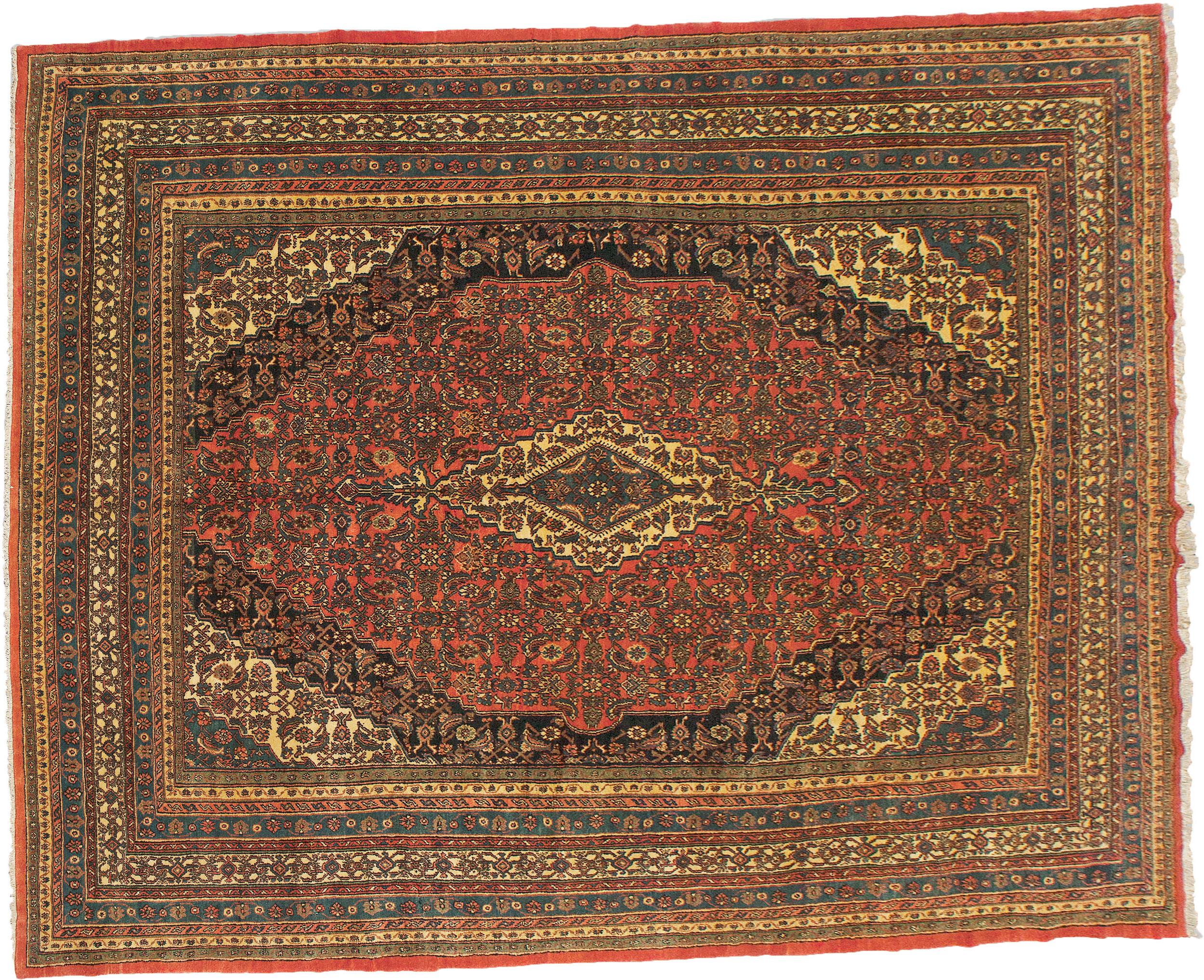 Vintage Bibikabad Carpet 420x320cm