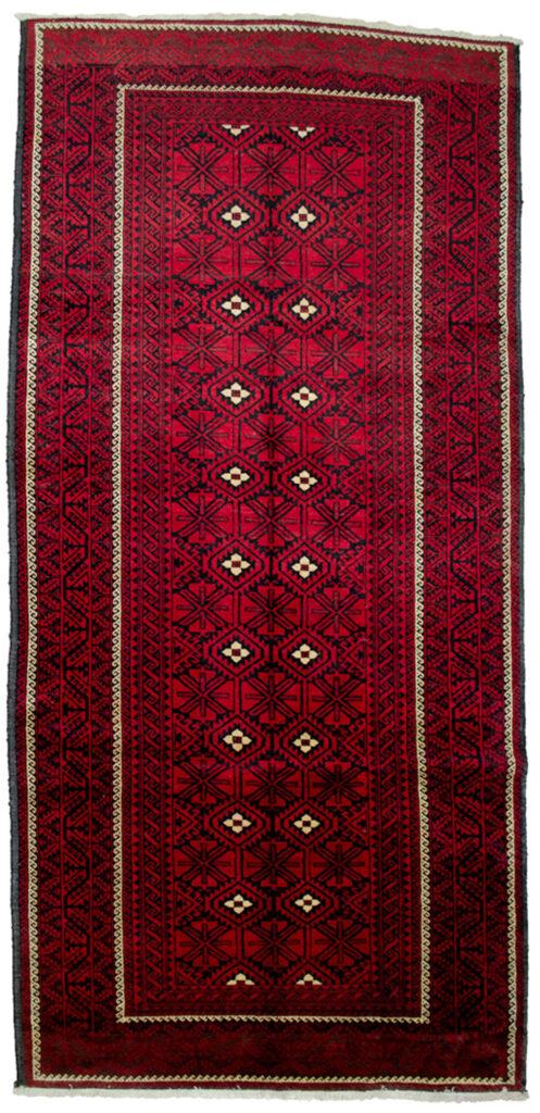 Vintage Baluch Rug 285x136cm