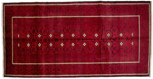 Vintage Baluch Rug 274x136cm