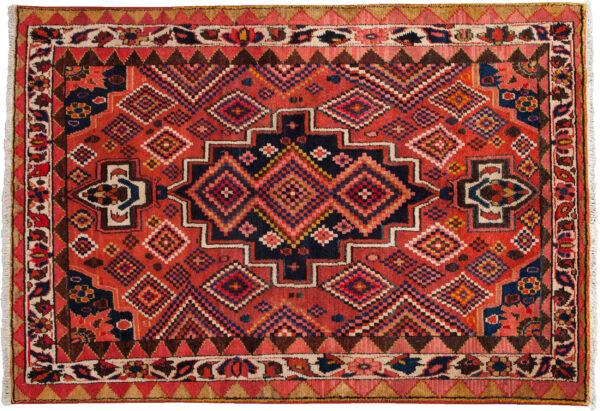 Antique Bakhtiari Gabbeh Rug 218x152cm