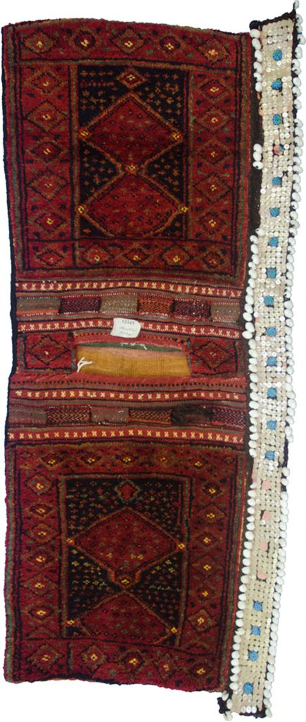 Antique Kurdish Saddlebag 150x57