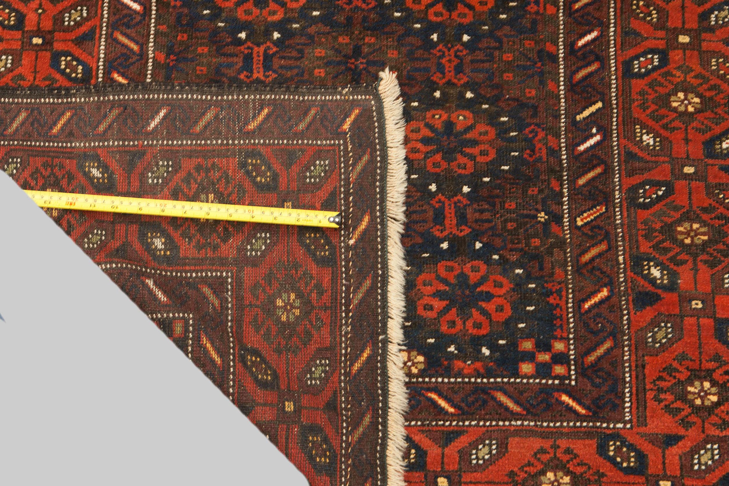 Antique Baluch Rug 198x118cm