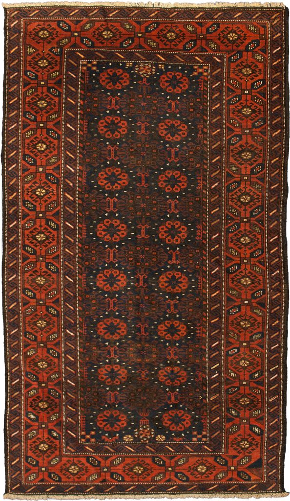 Antique Baluch Rug 198x118cm