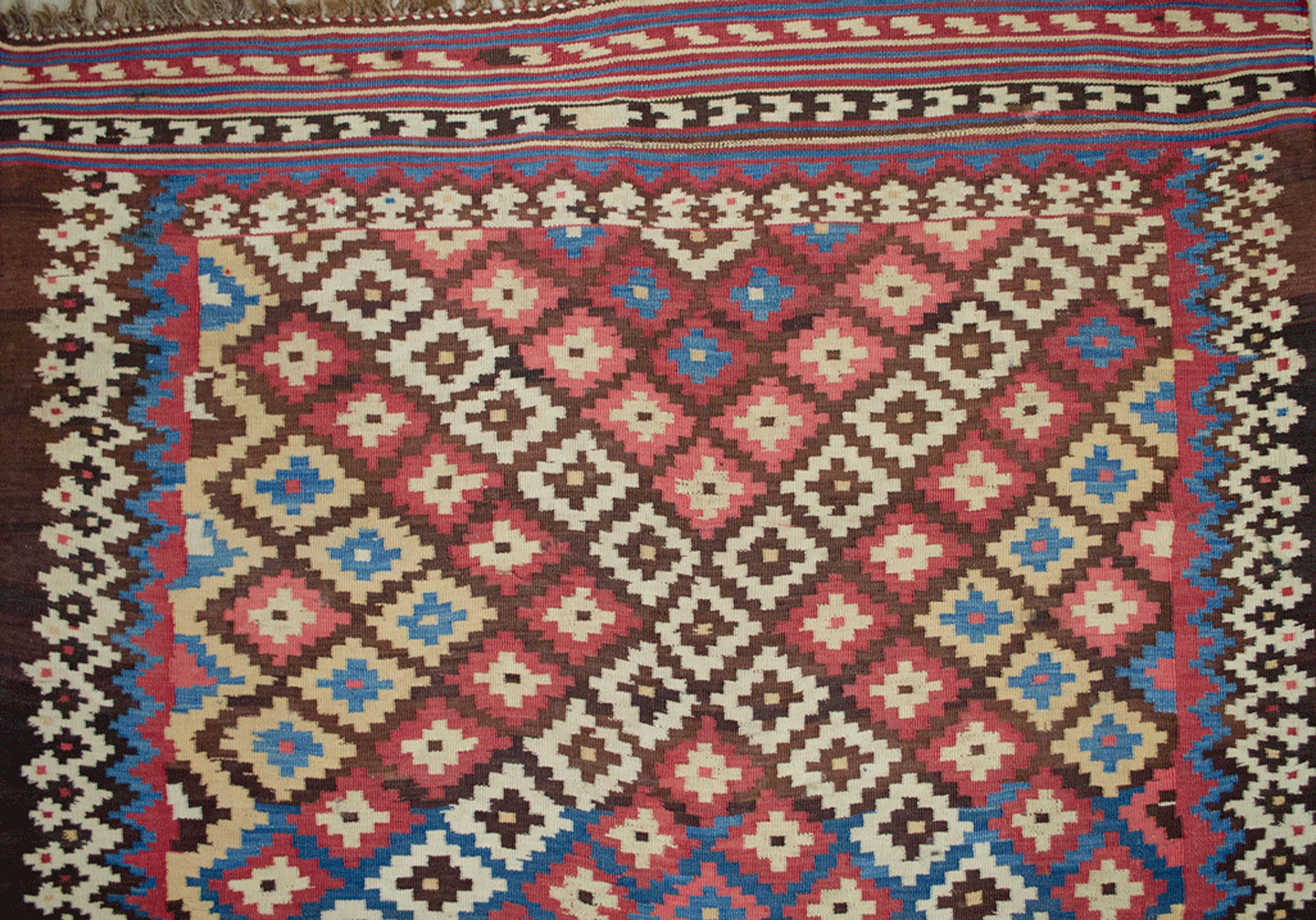 Antique Bakhtiar Kilim 275x151cm
