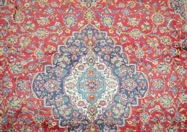 Vintage Kashan Carpet 410x294cm
