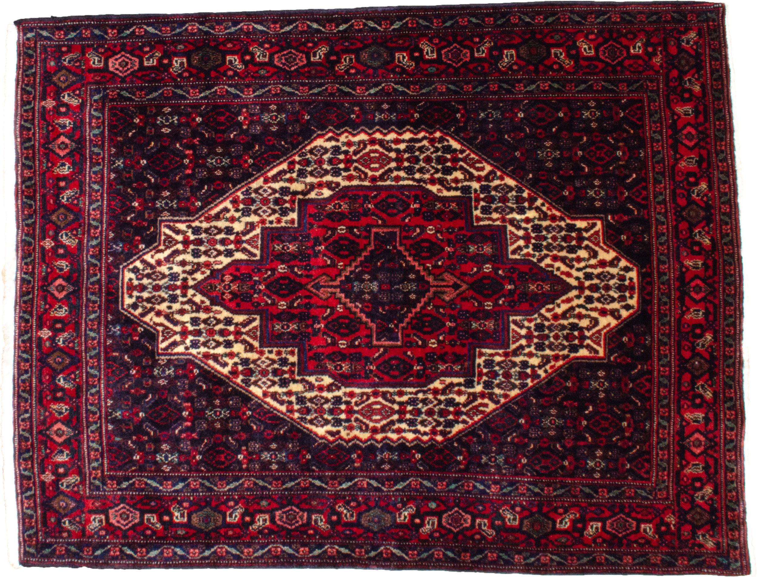 Vintage Senneh Rug 160x122cm