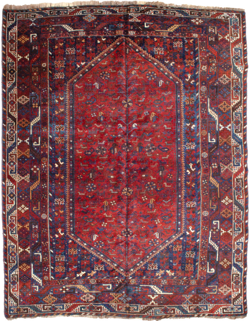 Antique Bownat Rug 213x168 cm
