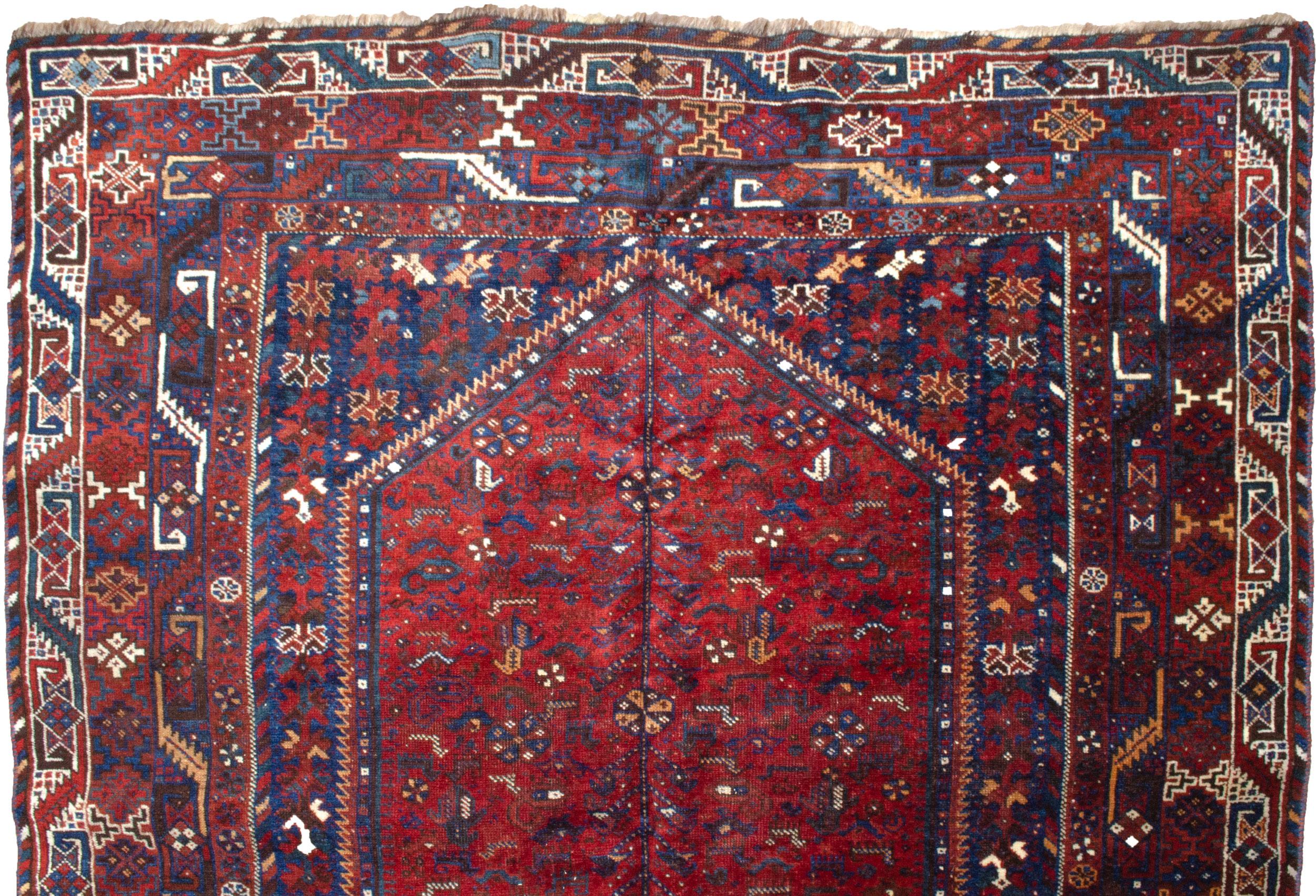 Antique Bownat Rug 213x168 cm