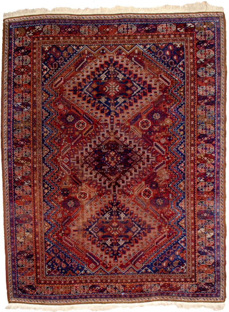 Antique Shiraz Rug 234x179cm