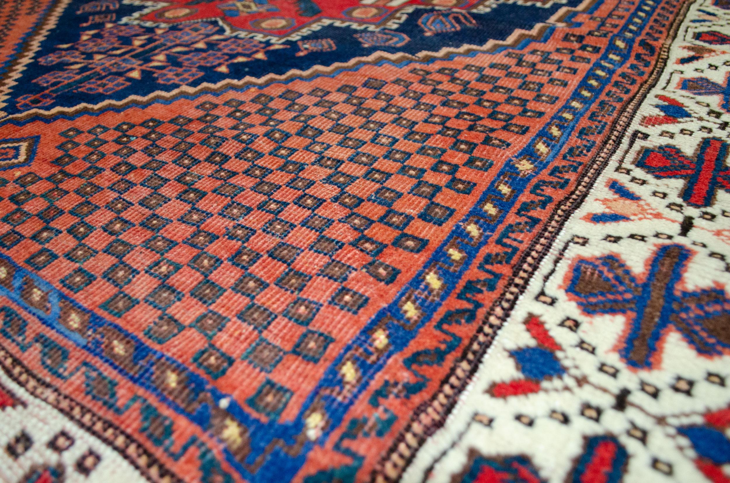 Antique Afshar Rug 184x133cm