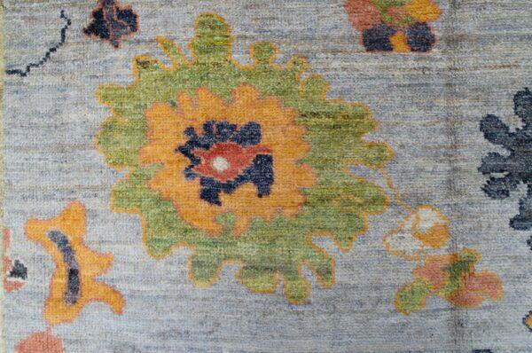 Antique Finished Ushak Carpet 305x250cm