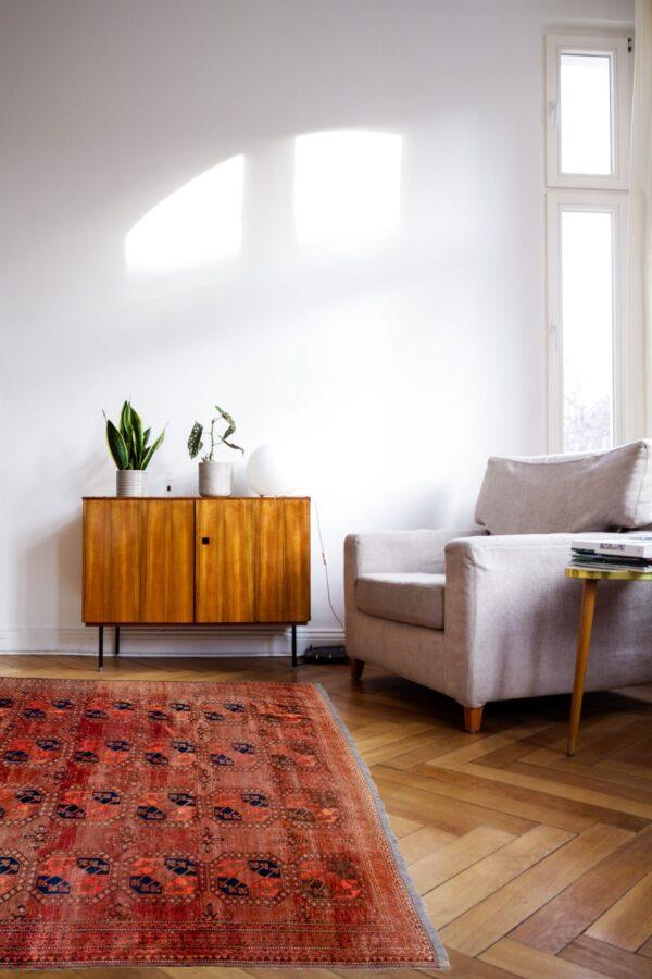 Antique Ersari Carpet 410x280cm