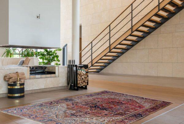 Antique Heriz Karaja Carpet 340x265cm