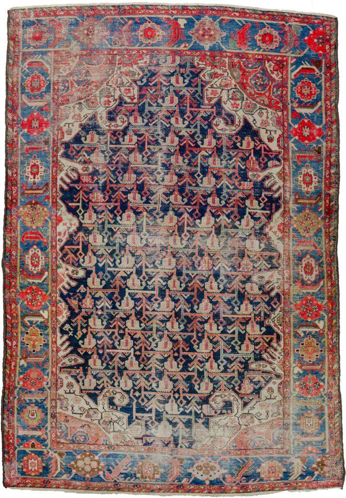 Antique Malayer Carpet 322x195cm