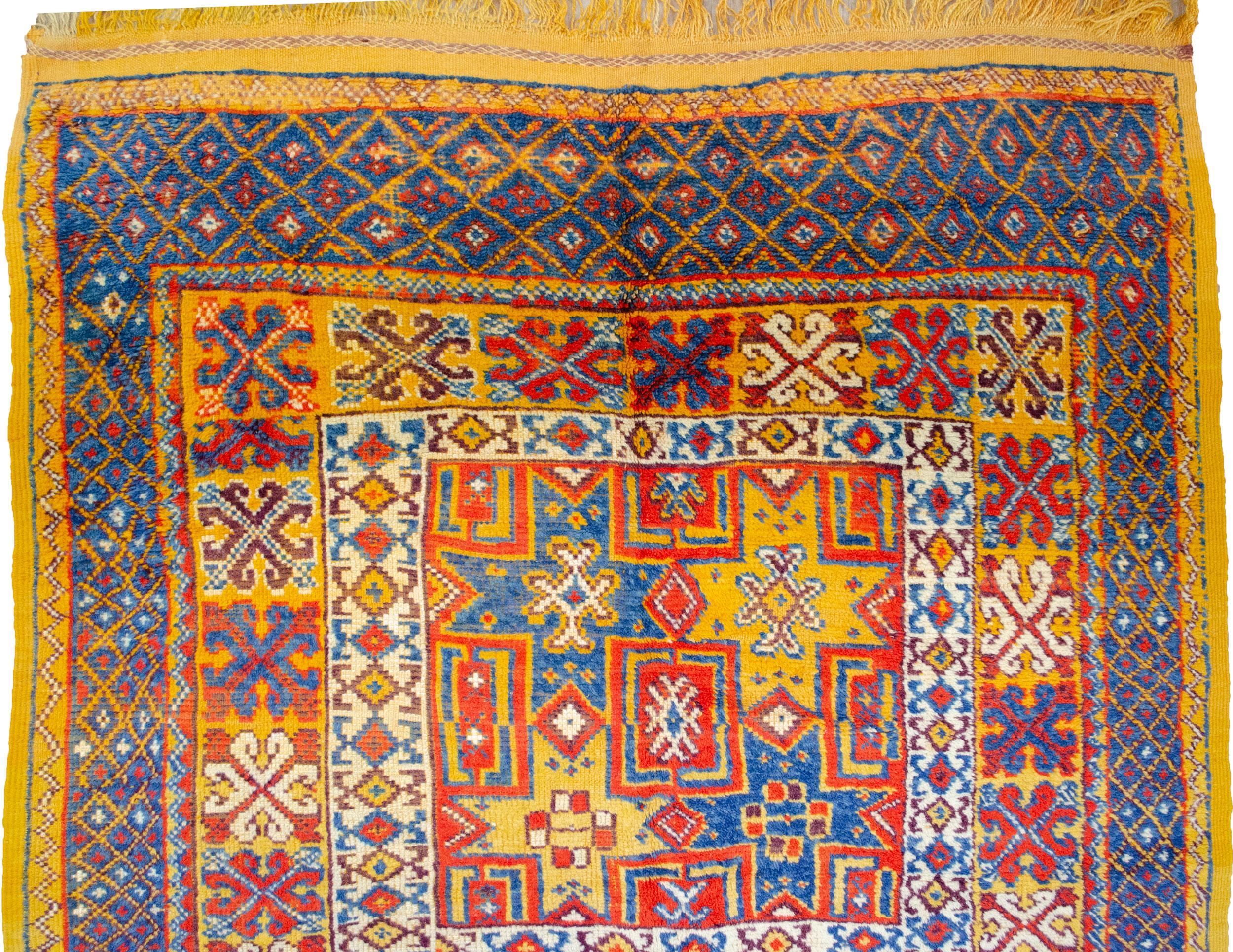 Vintage Morocco Rug 254x134cm